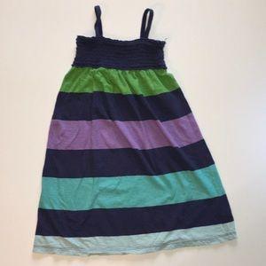 2/$25 Gap stripe knit smock sundress S 6-7